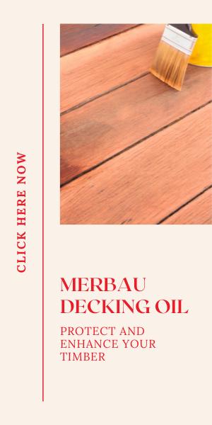 Merbau Decking OIl